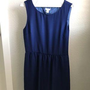 J Crew classic, sleeveless dress